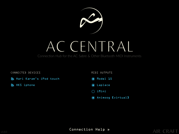AC Central Screenshot